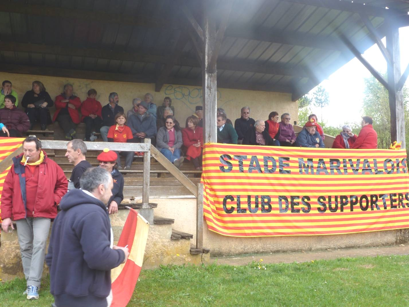 photo supporters stlm banderole tribunes